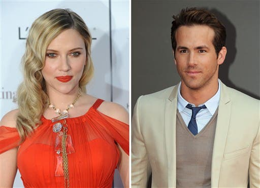 """Hollywood's hottest couple, US actress Scarlett Johansson and Canadian actor Ryan Reynolds filed for divorce on 23rd December.  Were they """"snooping"""" too?"""