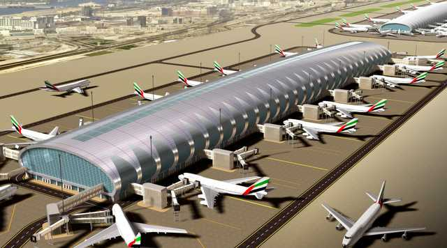Dubai airport renovation will force 300 flights to for International decor uae