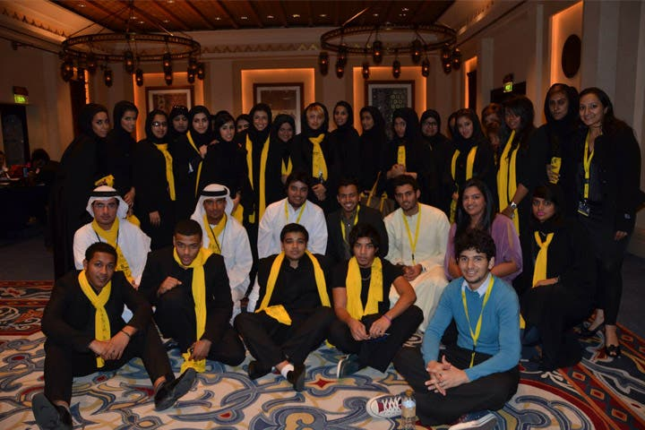Some of the volunteers at the Dubai International Film Festival. (Image: Facebook)