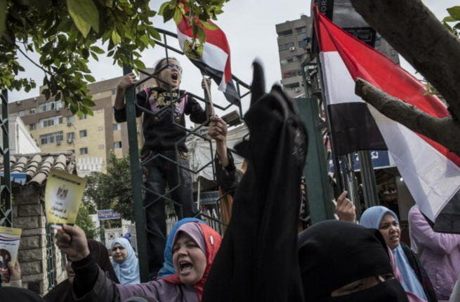 Egypt is a society divided by Morsi's moves and the referendum