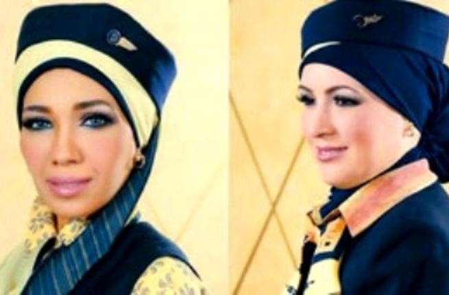EgyptAir: has upheld its ban on the hijab for hostesses for some years now, until Jan 25 left Egyptian women empowered enough to demand the right to re-veil.