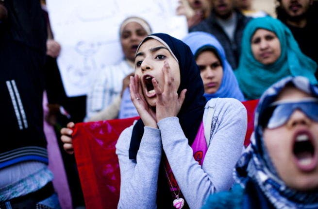 Egyptian women have to fight tooth and nail for their basic human rights.
