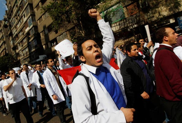 Egyptian students have led the revolution from the start