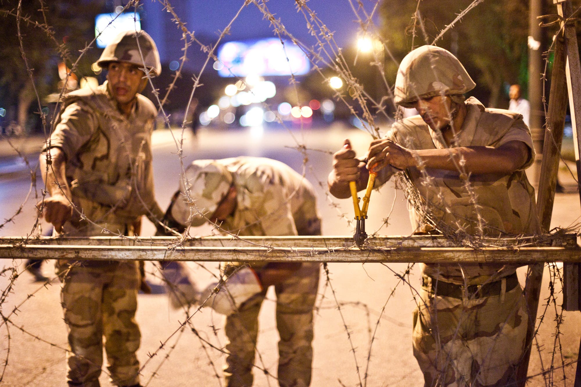 The nighttime curfew that applies across 14 of Egypt's governorates may be extended beyond mid-November. (AFP/File)
