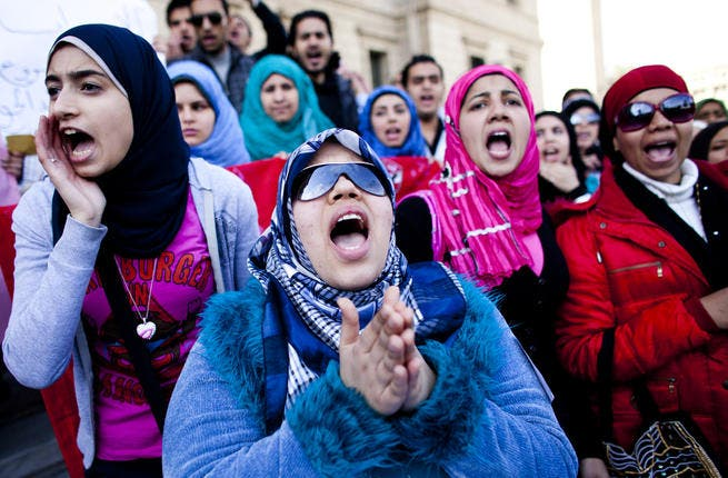 Egyptian women will no longer be silent over their lack of presence in their country's government.