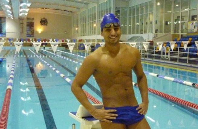 Sofyan El Gadi hopes his challenge at the London Olympics goes swimmingly!