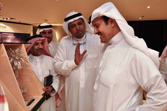 Prince Sultan Bin Abdul Aziz during his visit to Elaf Jeddah Hotel