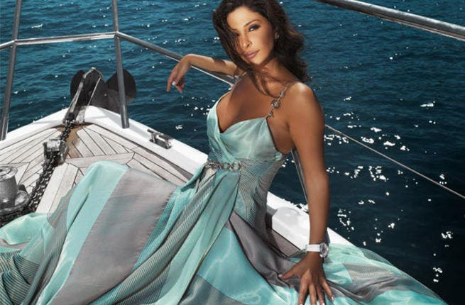Lebanese singer Elissa' fans don't take kindly to anyone rocking their boats.