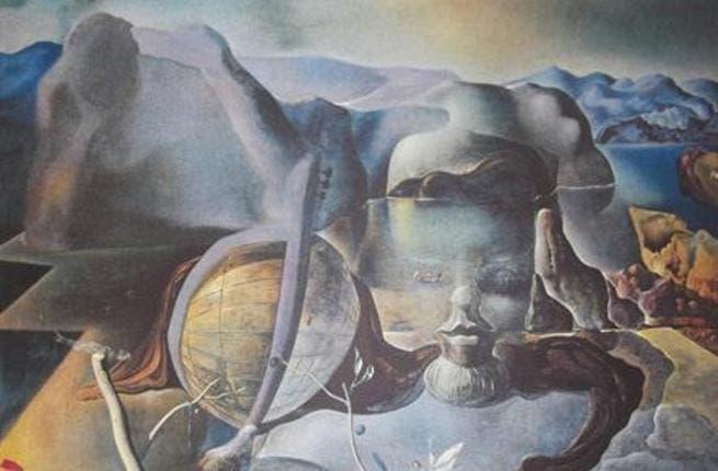"A lithography of Salvador Dali ""Enigme sans Fin"""