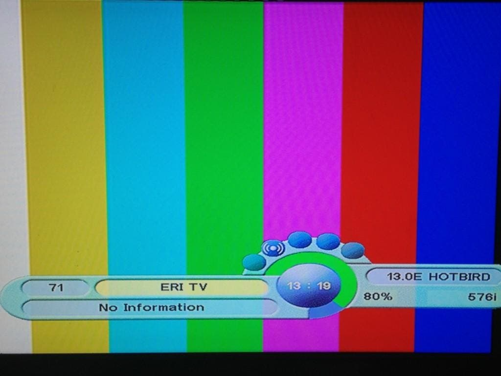Eritrea's state TV station taken off air.