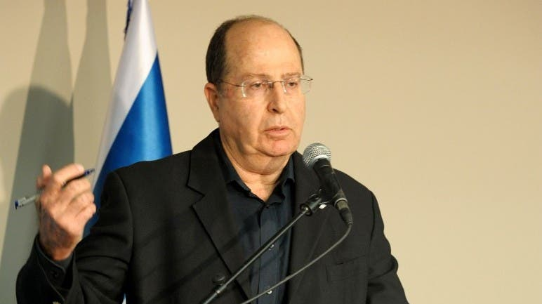 Defense minister Moshe Ya'alon said that