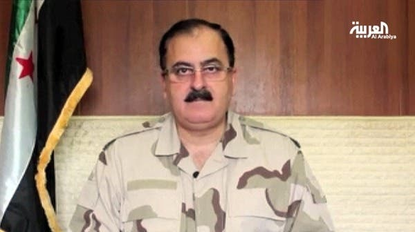 FSA official, Brigadier General Salim Idris, gave Hezbollah a threatening ultimatium if it doesn't leave Syria in the next 24 hours. Image courtesy of Al Arabiya.
