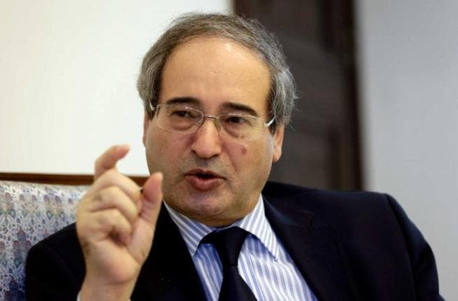 Syria's deputy foreign minister Faisal Mekdad would not say which countries' intelligence organizations contacted Syria. (AFP/File)
