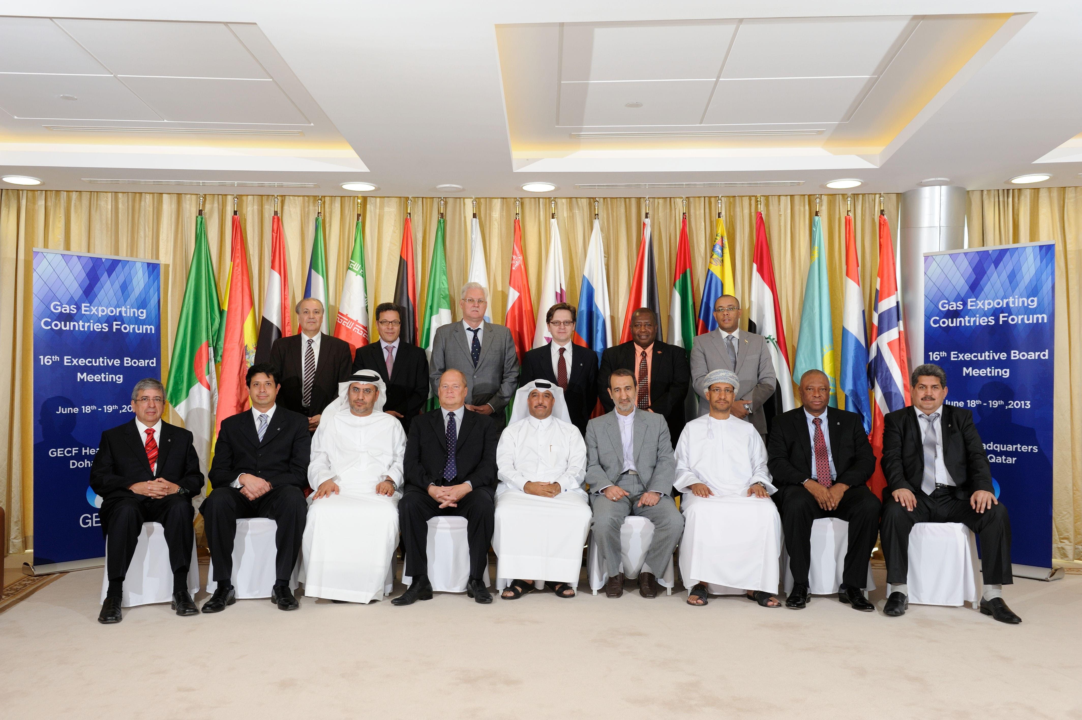 GECF meeting in Doha, June, 2013