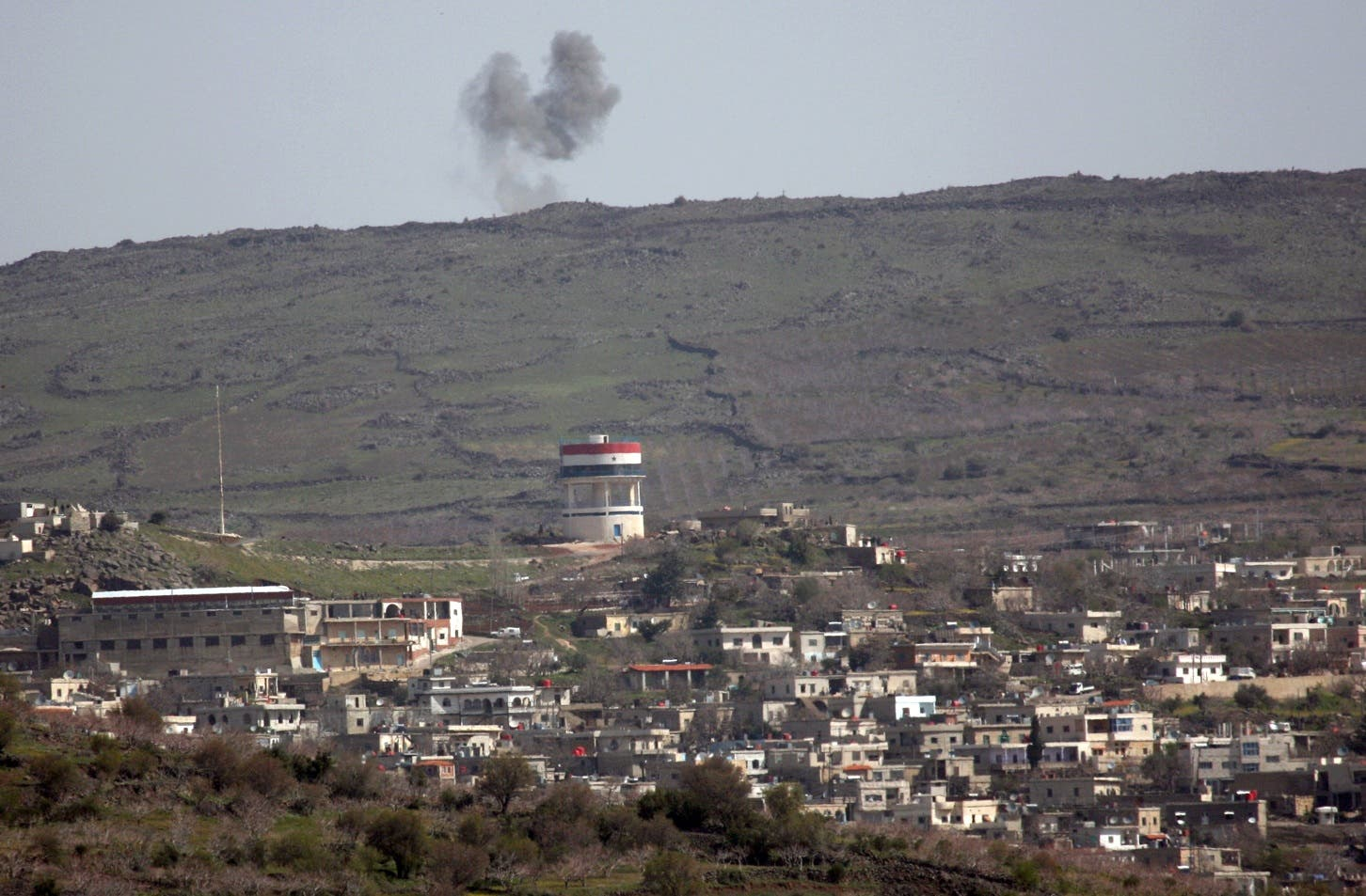 The occupied Golan Heights has been the scene of the disagreement between Israel and Syria.