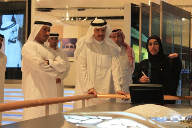 Prince Sultan Bin Salman during his visit to Saadiyat