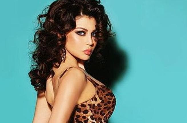 Lebanese star Haifa Wehbe denies rumours that she is giving up singing