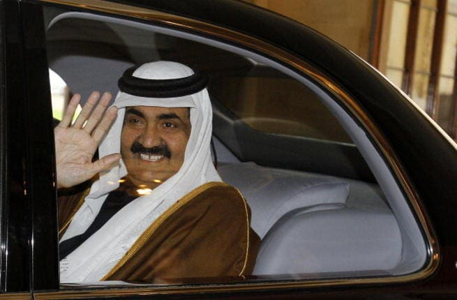 Qatar's Hamad bin Khalifa al Thani rides a wave of positive relations between the Arab Muslim world and the US