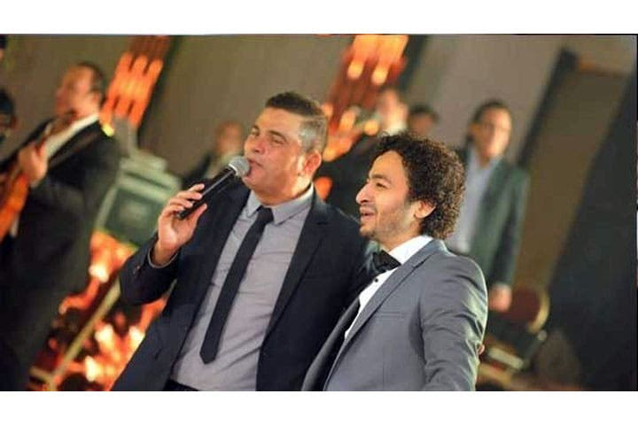 Hamada Hilal says him and Amr Diab are best buddies. (Image: Facebook)