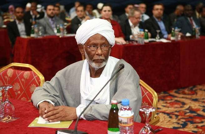 Hassan Turabi: Islamist Conference 2012, Doha. Photo, courtesy of Arab Center for Research and Policy Studies