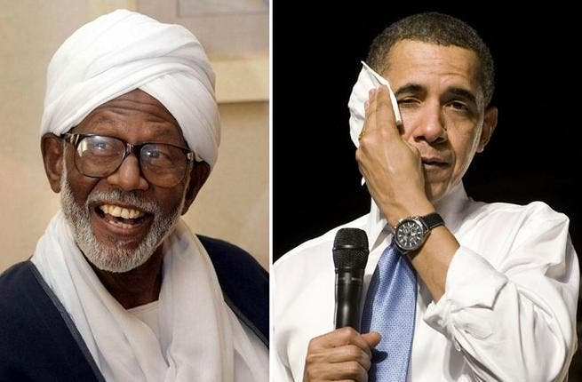 Hassan al-Turabi/President Obama