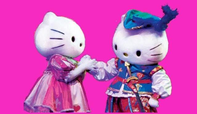 Hello Kitty and Dear Daniel enchanting their fans at BurJuman