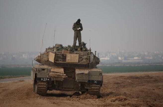The IDF hard at work