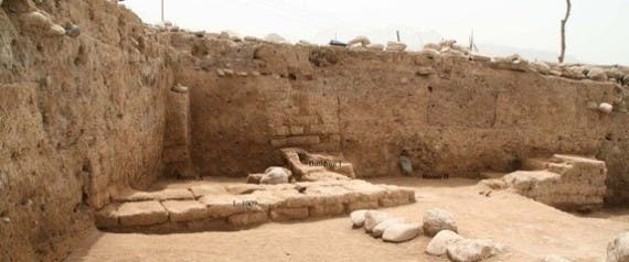 A domestic structure, with at least two rooms, that may date to relatively late in the life of the newfound ancient city, perhaps around 2,000 years ago when the Parthian Empire controlled the area in Iraq. (Photo courtesy Cinzia Pappi/The Huffington Post)