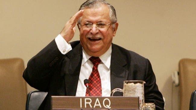 Iraqi president, Jalal Talabani