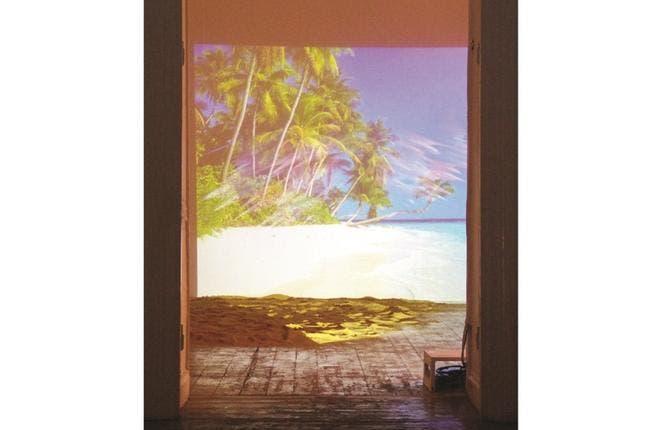 Zen Beach by Islam Shabana. (Ahmaddin Khelesh and the Townhouse Gallery)