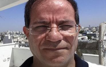 Ali Mansouri, an Iranian with Belgian citizenship suspected of attempting to establish front companies as cover for espionage, terrorist activities by Iranian authorities; found carrying photos of US Embassy in Tel Aviv. (Photo courtesy of Shin Bet)