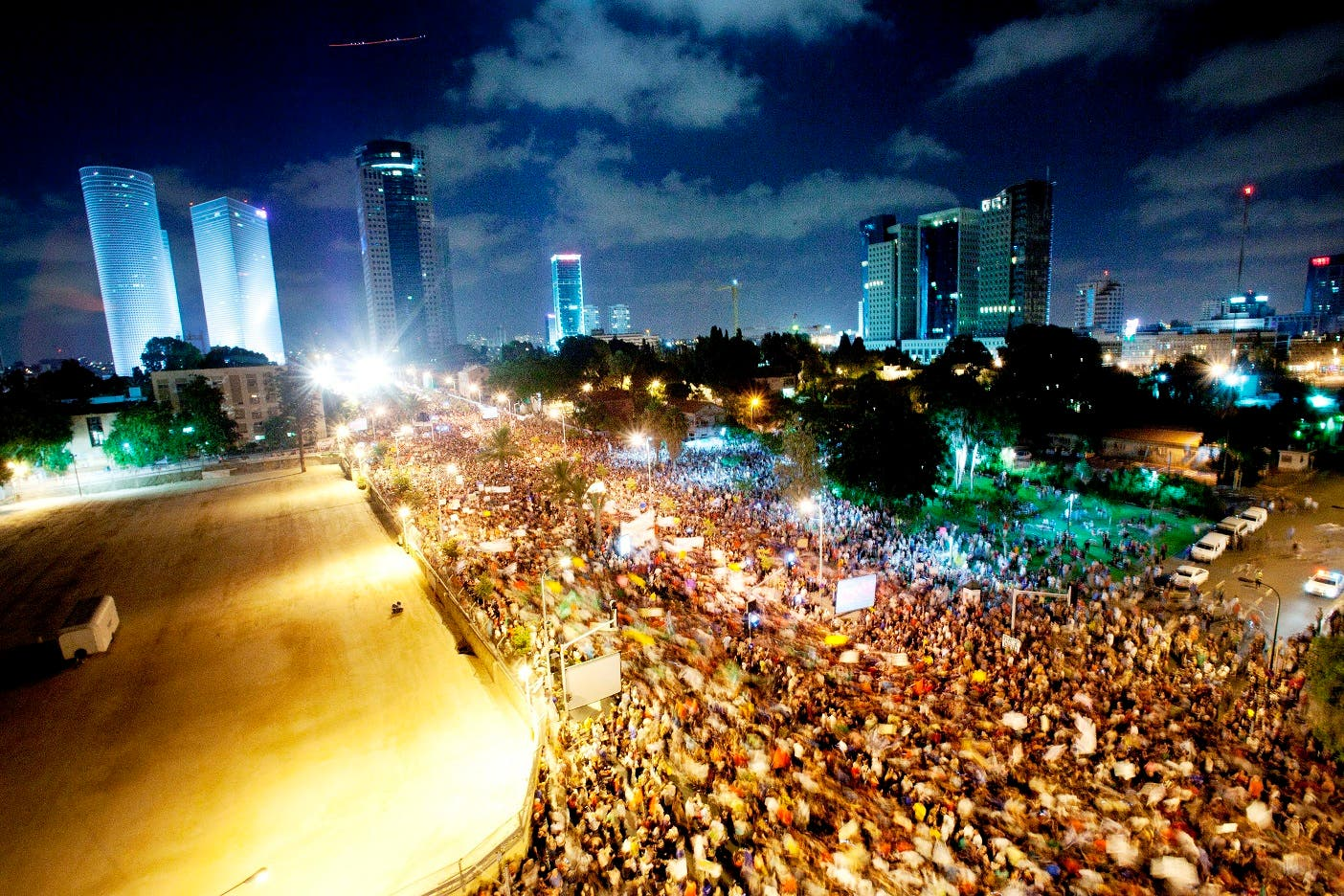 Israeli activists have been calling for mass Saturday protests against high living costs over the last 3 weekends.