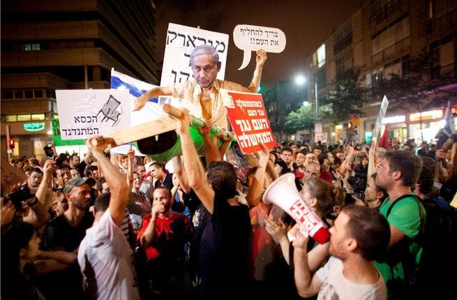 Israel has a 'Middle Class', in the words of Haaretz, protest for change.