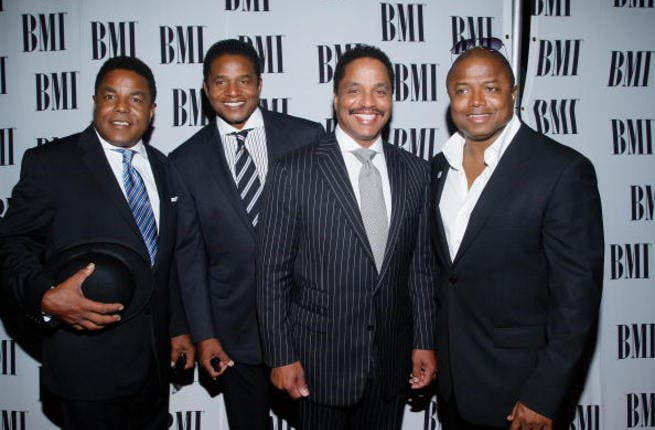 From left: Brothers Tito, Jackie, Marlon and Randy Jackson.