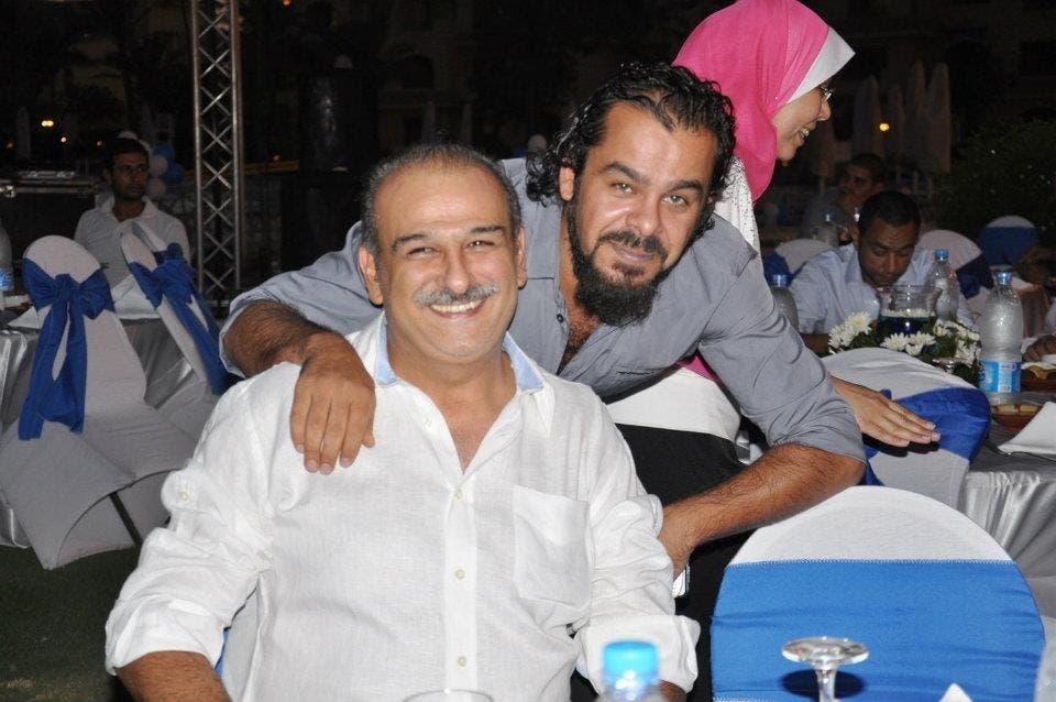 Jamal Suleiman (front)