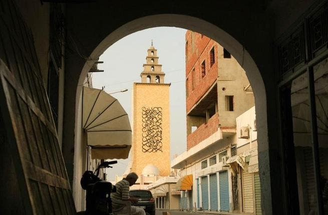 El-Seed says his minaret project makes art visible as an actor in the process of Tunisia's cultural and political change