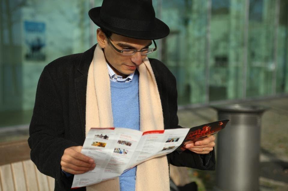 The director of Jews in Egypt Abdel-Rahman Sherief.