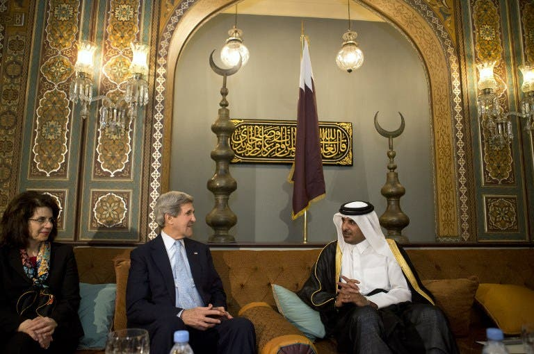 Secretary of State, John Kerry, has been touring the Middle East on his first official trip.