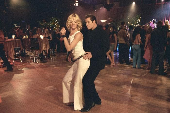 Travolta has always been famous for his dance moves. (Image: Pulp Fiction/ Facebook)