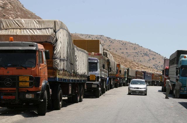 Trade between Jordan and Syria has come to a standstill against the backdrop of escalating violence in southern Syria (Image Jordan Times)