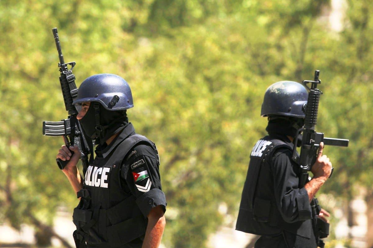 Jordanian Police.