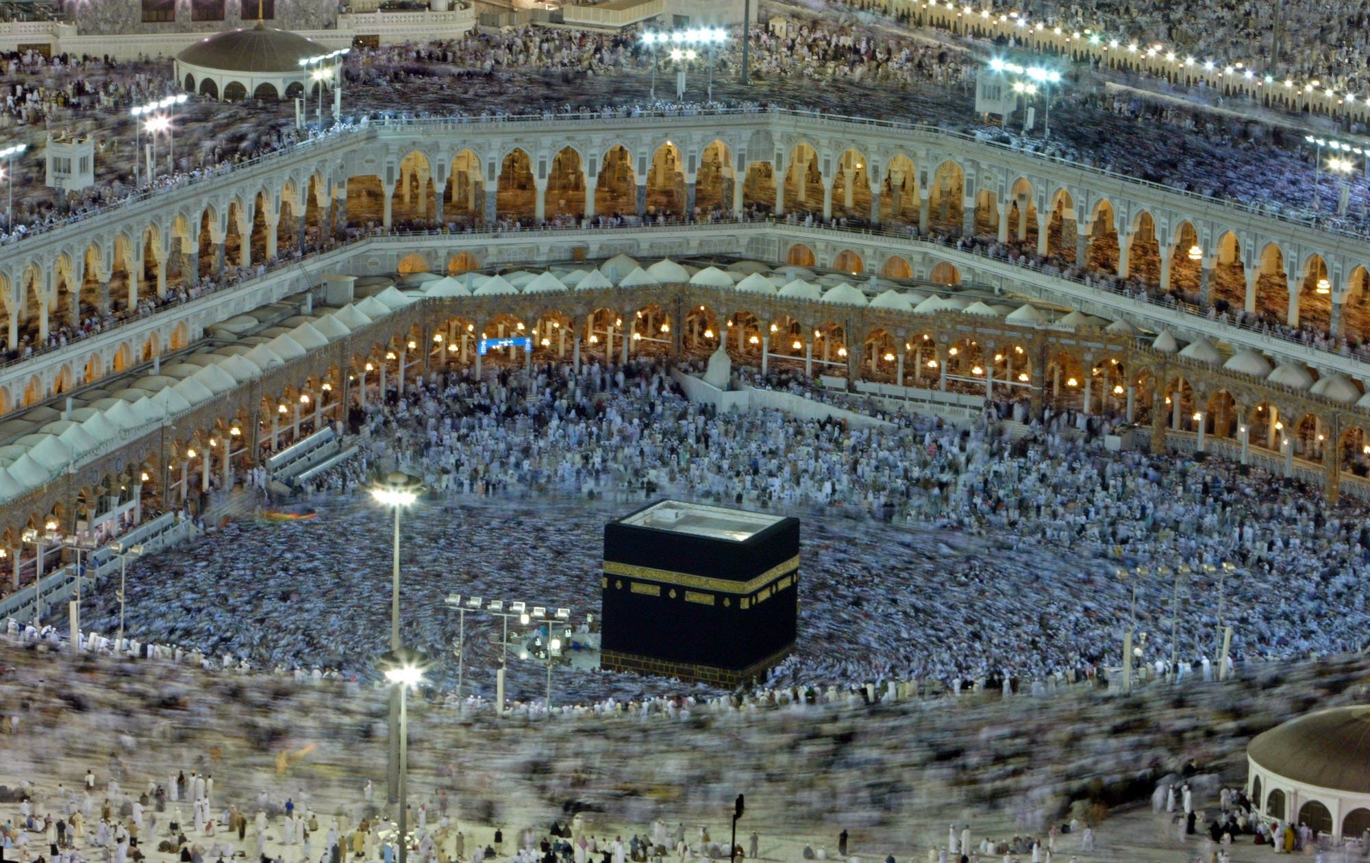 Mecca the Holiest Site of worship and focal point  for Muslims who face its direction during daily prayer, needs no introduction. Muslims often aspire to visit- whether for annual pilgrimage (once in a lifetime is required) or 'Omra'.