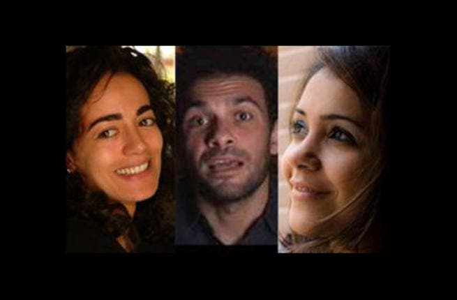 Karima Mansour, Tamer Said and Fairouz Karawya.