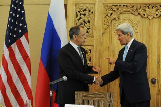 US Secretary of State John Kerry and Russian Foreign Minister Sergei Lavrov say they have a