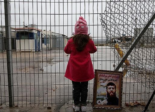 Khader Adnan's days may be numbered as he continues with his hunger strike- shown for illustrative purposes.