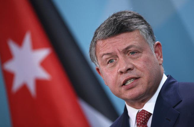 King Abdullah II met with Hamas chief Khaled Meshaal on Monday. (AFP)