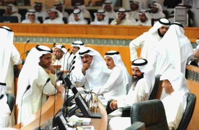 The Kuwaiti parliament in action