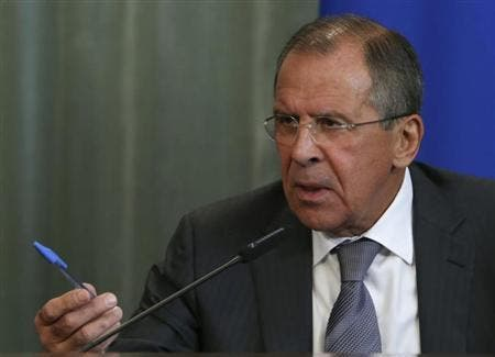 Russian Foreign Minister Sergei Lavrov has described the proposed U.N. resolution on aid access in Syria