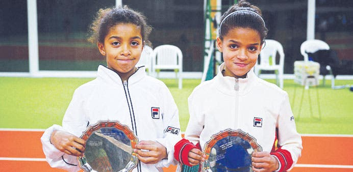 Pictured: Marley and Lea Manga, aged 13 and 10, respectively. (Photo Credit: Gulf Business)