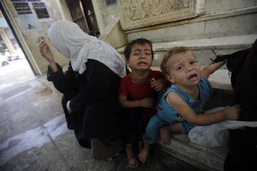 Many of the wounded were children. (AFP/File)